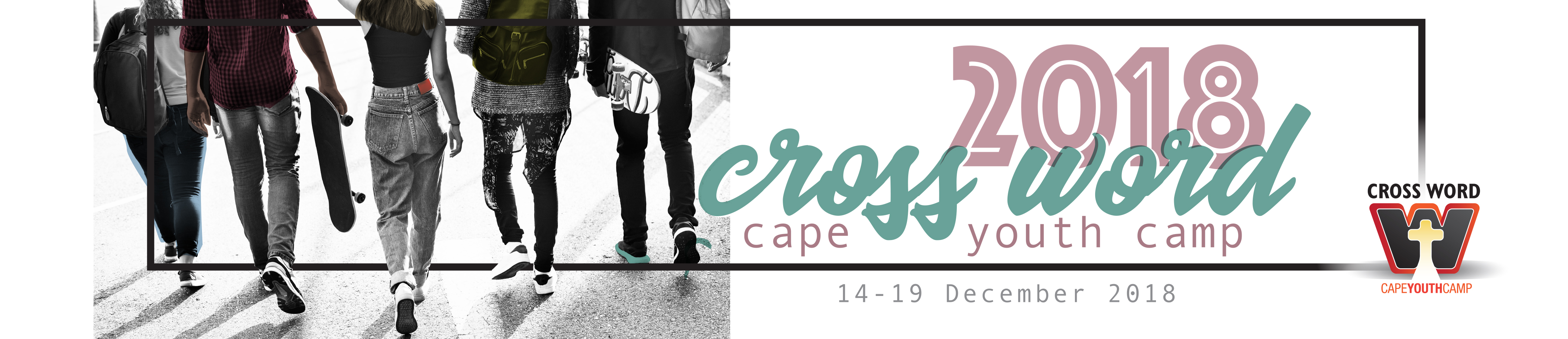Cross Word Youth Camp Logo